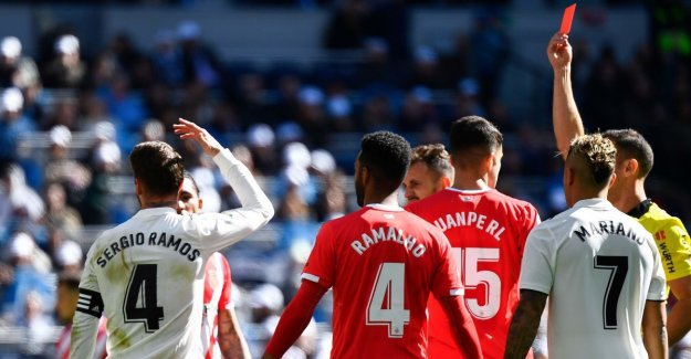 Real Madrid went on embarrassing hjemmetap