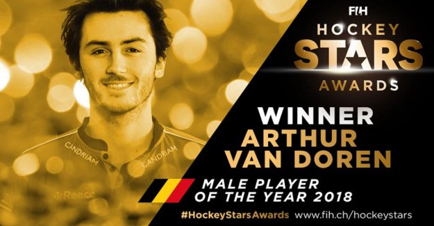 Red Lions tackle all prices on Hockey Stars Awards, Van Doren is again the best hockey player in the world