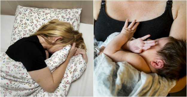 Researchers are looking for sleepy moms