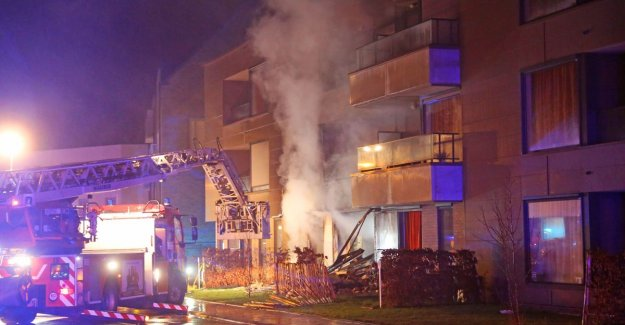 Residents nursing home evacuated after explosion: emergency services find shells and gunpowder in room resident