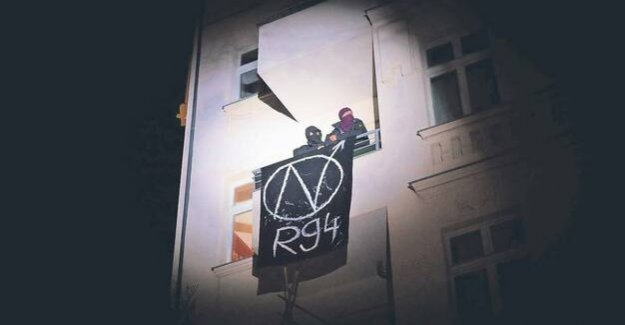 Rigaer Straße in Berlin : the extreme left of the justice officials threaten