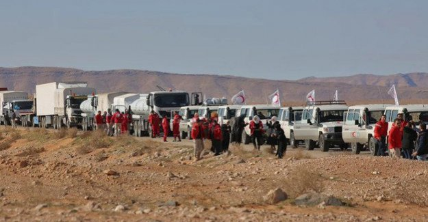 Rukban in Syria : UN report of extreme Hardship in refugee camps