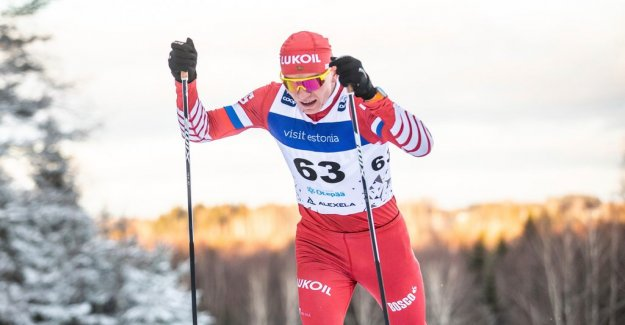 Russian victory in the dress rehearsal for the world ski CHAMPIONSHIPS