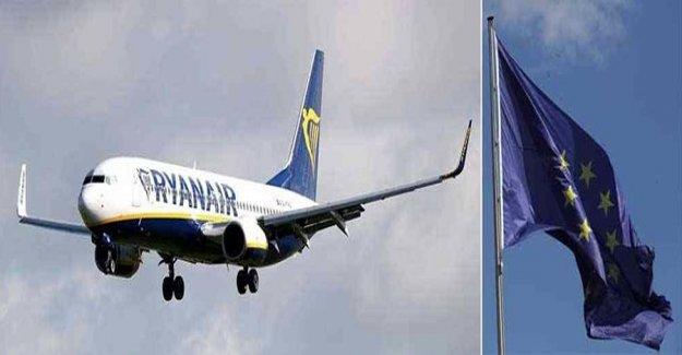 Ryanair may lose flygrättigheterna in the EU