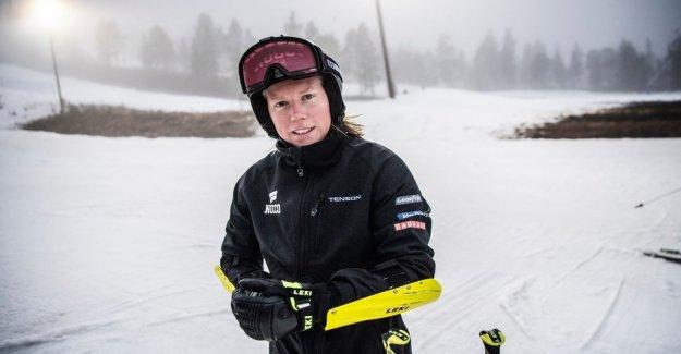 Rysarseger for Sandra Näslund: Never been any tighter