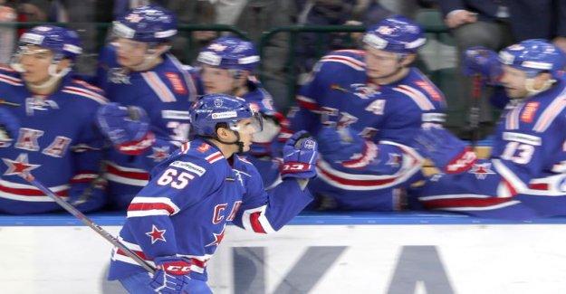 SKA bathed Jokers in st. Petersburg