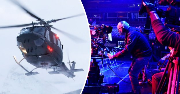 SVT flew in personnel by helicopter – the bill: 40 000 sek