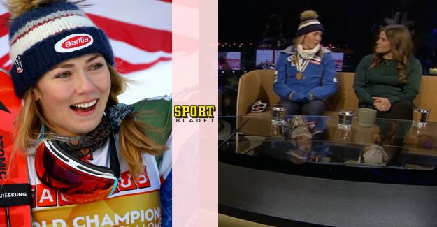 SVT:s panikändring after Shiffrins coup