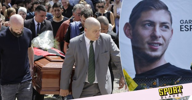 Sala was buried at home in Argentina: A really emotional day