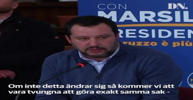 Salvini sprinkle salt in the open wounds in the franco-Italian crisis