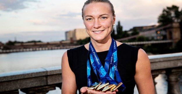 Sarah Sjöström the best in Europe again