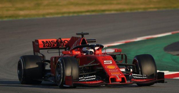Sebastian Vettel fastest on first day, also McLaren makes good turn