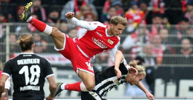 Second Division : 1. FC Union defeated Sandhausen 2:0