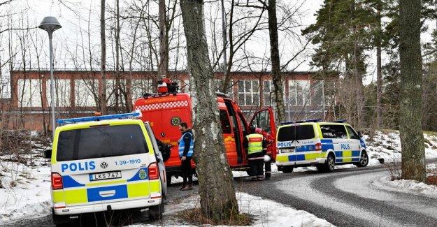 Several students at the Lidingöskola taken to the hospital