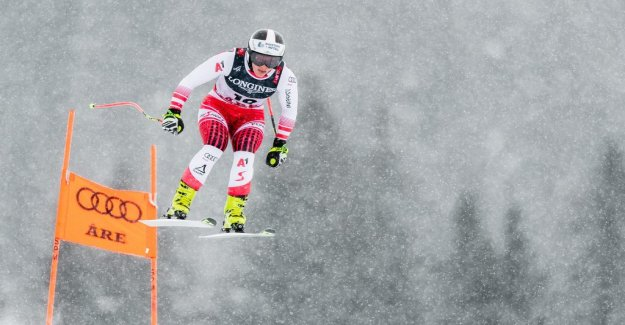 Siebenhofer leads the world CUP-the combination