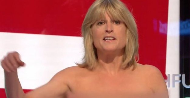 Sister of Boris Johnson goes 'topless' in their own program on Sky News