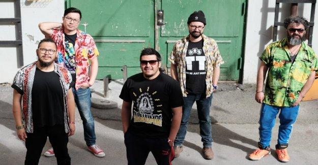 Skivrecension: Falakumbe create a carnival latinpunk