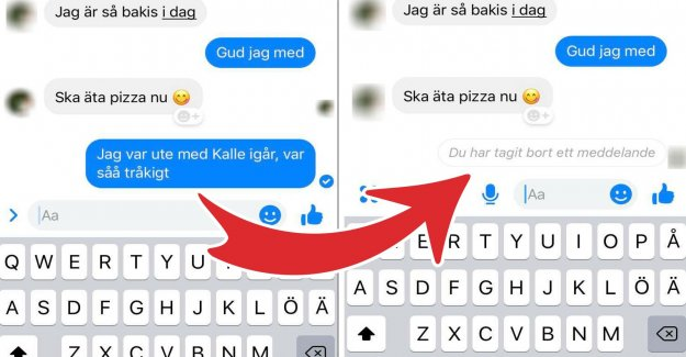 So, you can undo the messages on Facebook