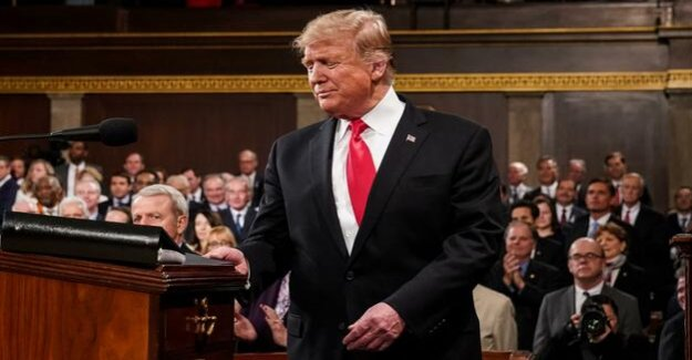 Speech on the state of the Nation : Trump is the reconciler and fails