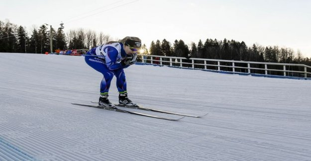 Sprint boost women too much for the finns - Lylynperä and Ears fell off