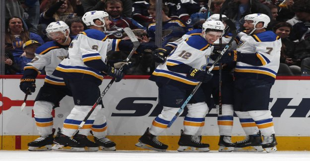 St. Louis took tenth straight victory