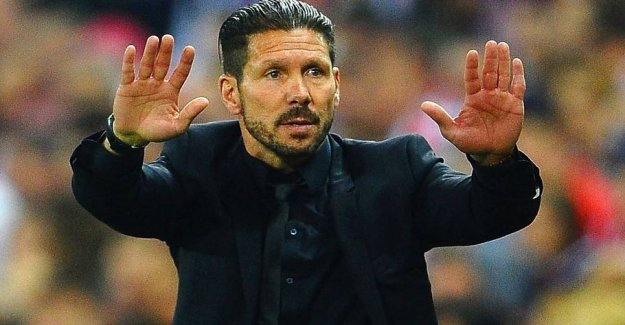 Stale: Diego Simeone vetoed the FCK-commerce