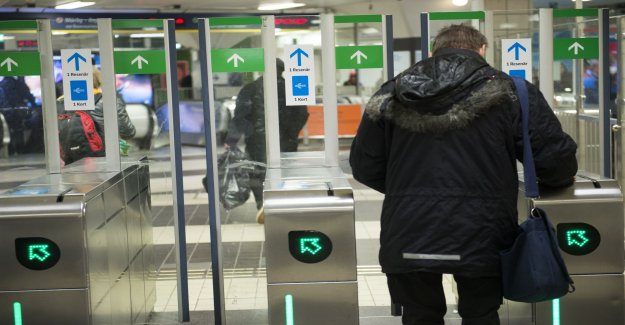 Stop for cash in the subway