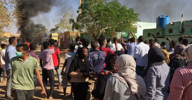 Sudan's president softens after protests