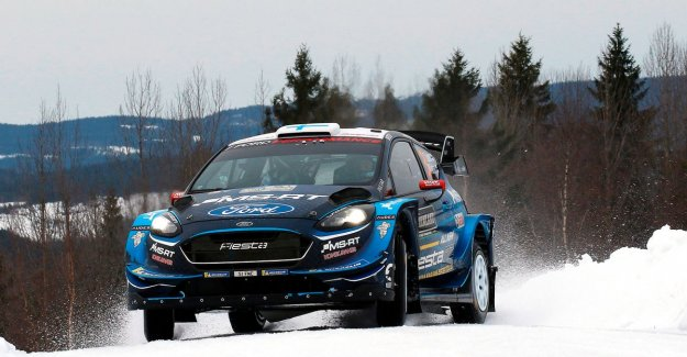 Suninen takes lead after day 2 at Rally Sweden, Neuville goes in error and is seventh