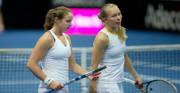 Sweden near group win in the Fed Cup