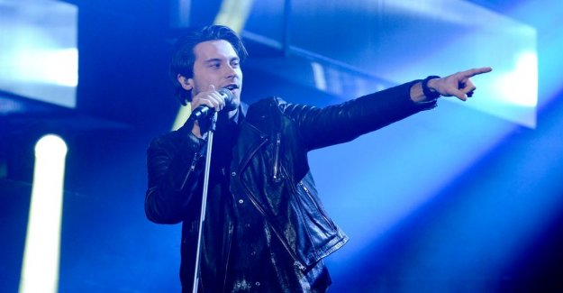 Swedish Victor Crone won the Estonian Eurovision song contest