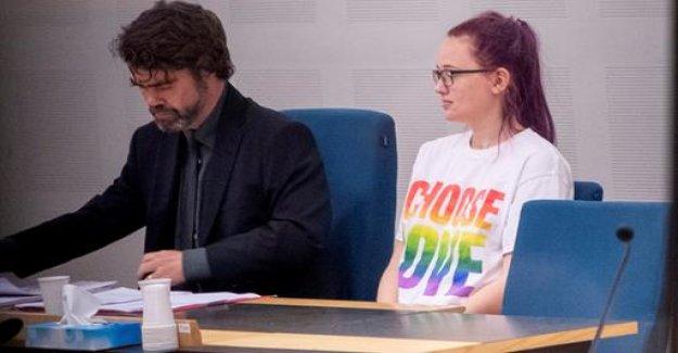 Swedish activist has to pay a monetary penalty