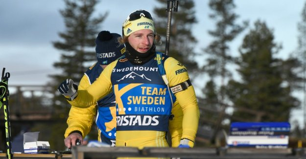 Swedish fiasco, the team was picked up by the track in the herrstafetten