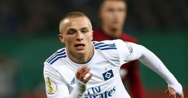 Talent of the Hamburger SV : Jann-Fiete Arp switches to FC Bayern