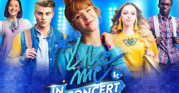 Teen-series '#LikeMe' is in concert at the Lotto Arena