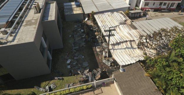 Ten boys died in the fire in Brazil