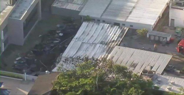 Ten dead in fire at the Flamengo training