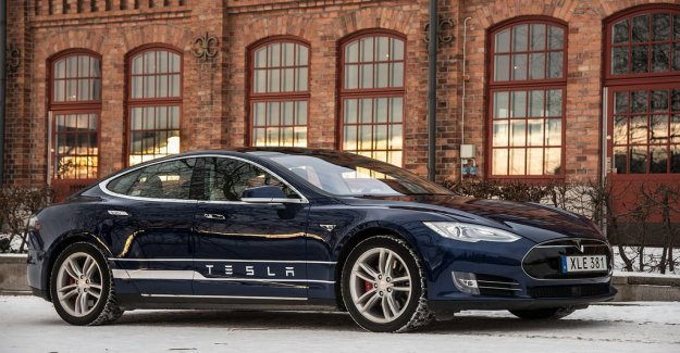 Tesla's value is best among three-year-old cars