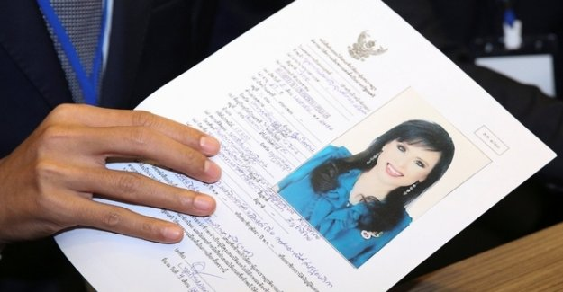 Thailand's Princess from the election campaign