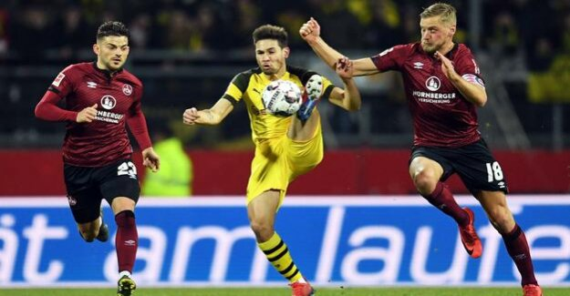 The BVB is playing only 0:0 at the Last Nuremberg : Borussia Dortmund can't win