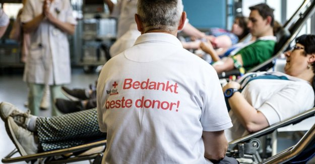 The Block abolishes age limit for blood donors definitively