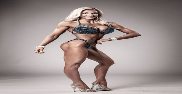 The Finnish bikini fitness star tells of the panic at the airport - the chinese authorities took the back room and showed me a picture of the dog: I Thought, my god, what the hell are they doing