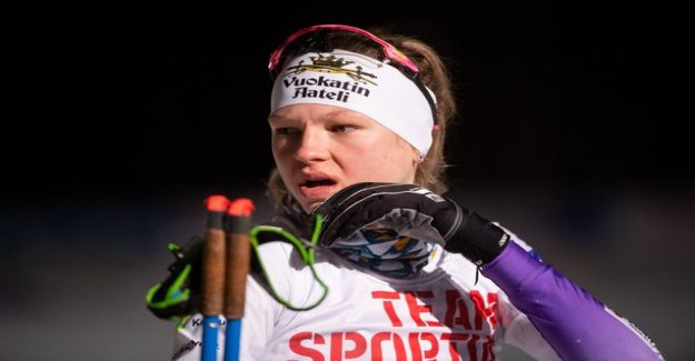 The Finnish ski hope Eveliina Piippo, 20, totally collapsed last fall - left the national team camp the door blazing: Yes there was time in the yard
