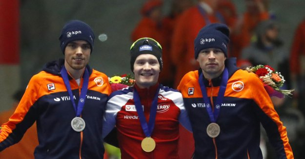 The Norwegian world CHAMPIONSHIP gold medals on the 5000 metres