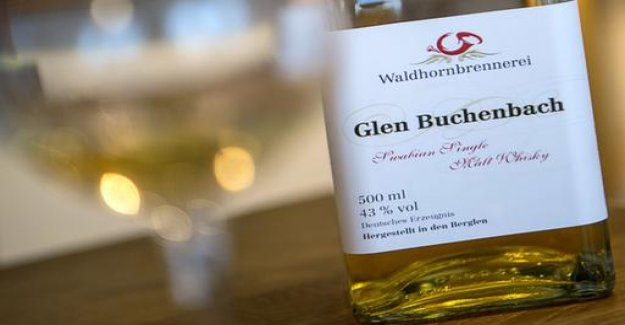 The Swabian Whisky may not be called Glen book Bach