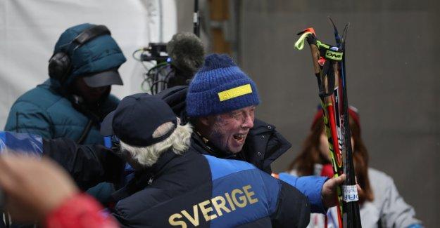 The Swedish skiskytterlandslaget rages against SAS after the big blister