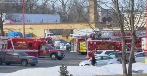 The alarm on the ongoing gunfire at the factory