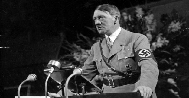 The destructive rage of Adolf Hitler