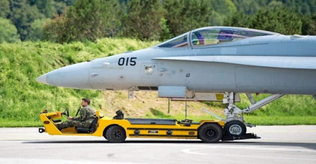 The fighter jet is worthwhile-counter transactions for Switzerland?