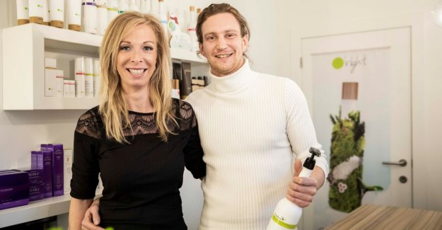 The greenest hair salon in Limburg: We only use natural products
